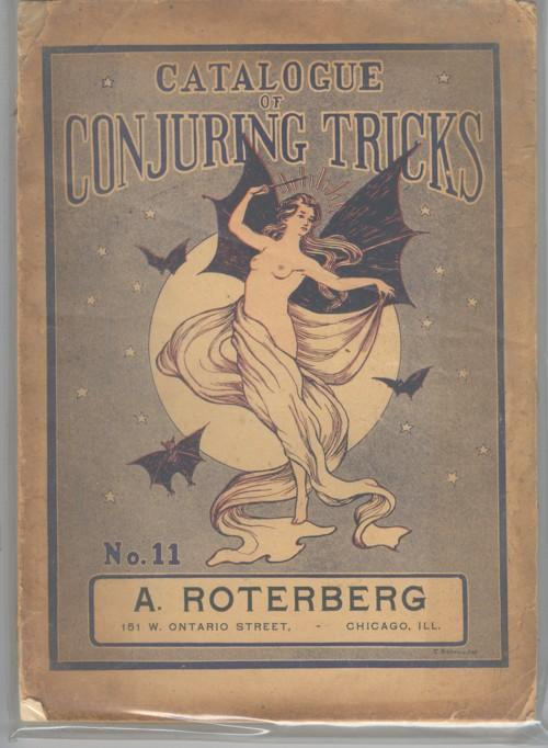 Circa1900 A. Roterberg Catalogue of Magic Tricks No.11